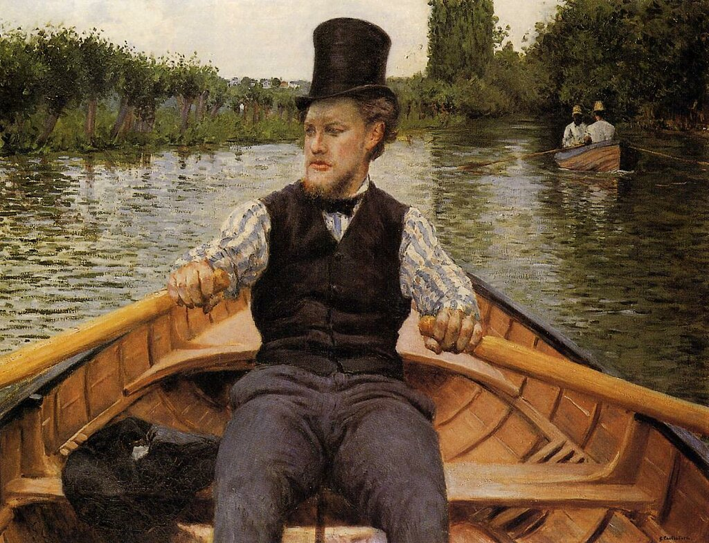 Boating Party  -  1877 - Private collection -  Painting - oil on canvas.jpg
