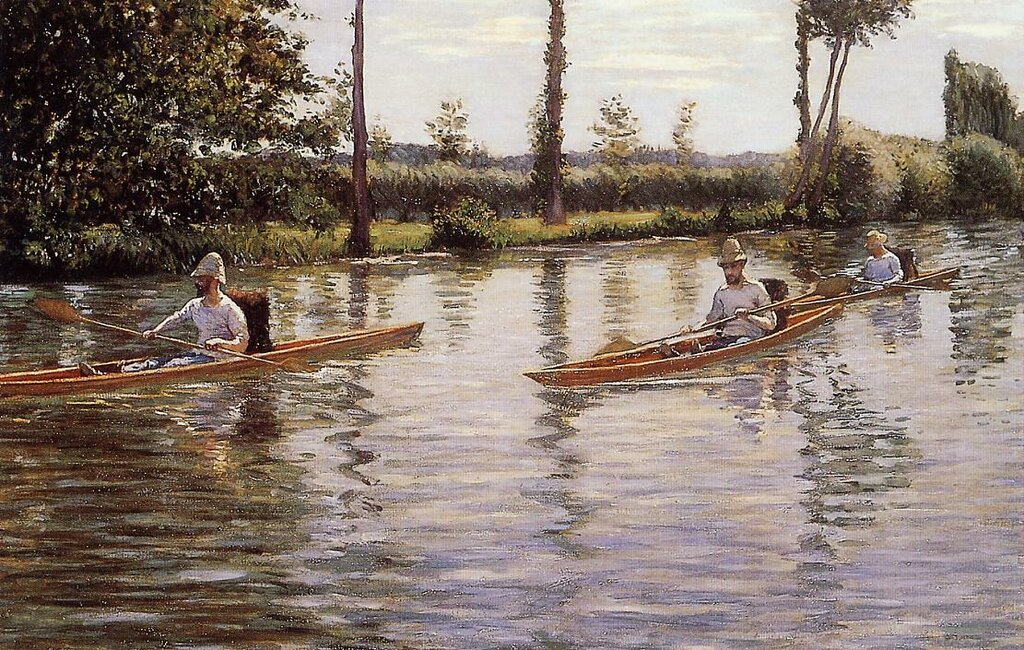 Perissoires sur l'Yerres (also known as Boating on the Yerres)  -  1877.jpg