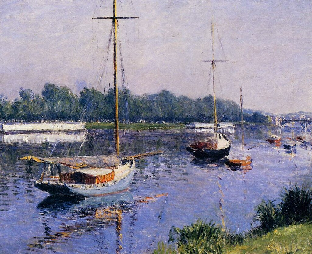 The Basin at Argenteuil - 1882 - Private collection - Painting - oil on canvas.jpg