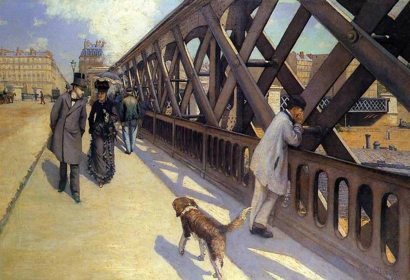 The Pont du Europe - 1876 - Musee du Petit Palais - Painting - oil on canvas.jpg