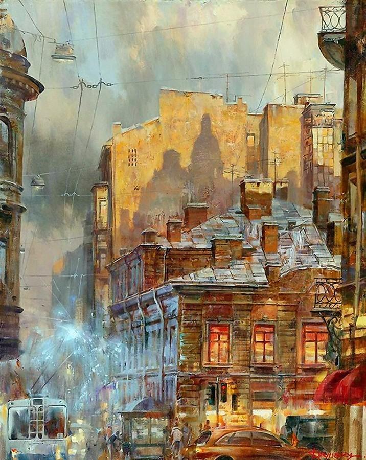 Миры фантастического реализма художника Ивана Славинского