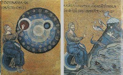 Сотворение мира в Звёздном Храме Хиневича