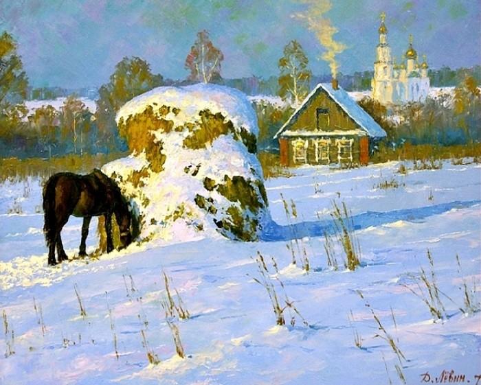 Рождественский вечер. Автор: Дмитрий Левин.