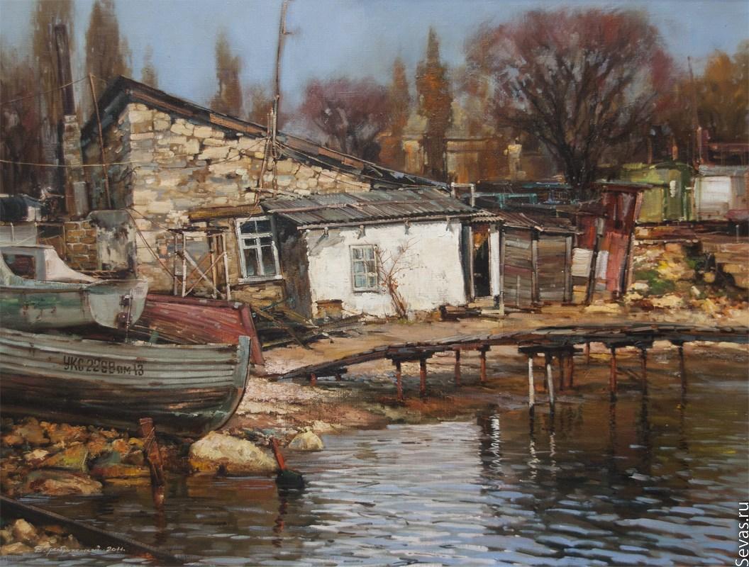 Художник Преображенский Владимир Николаевич(Vladimir Preobrazhensky) (1960-….).