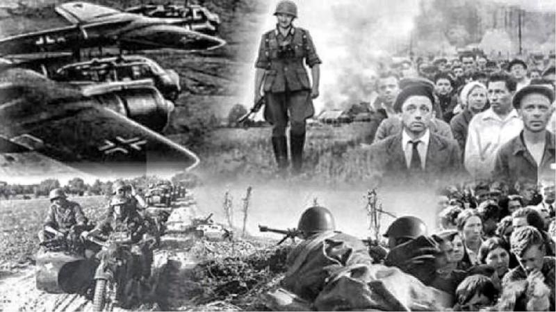 Очень кратко для дебилов — 22 июня 1941 год