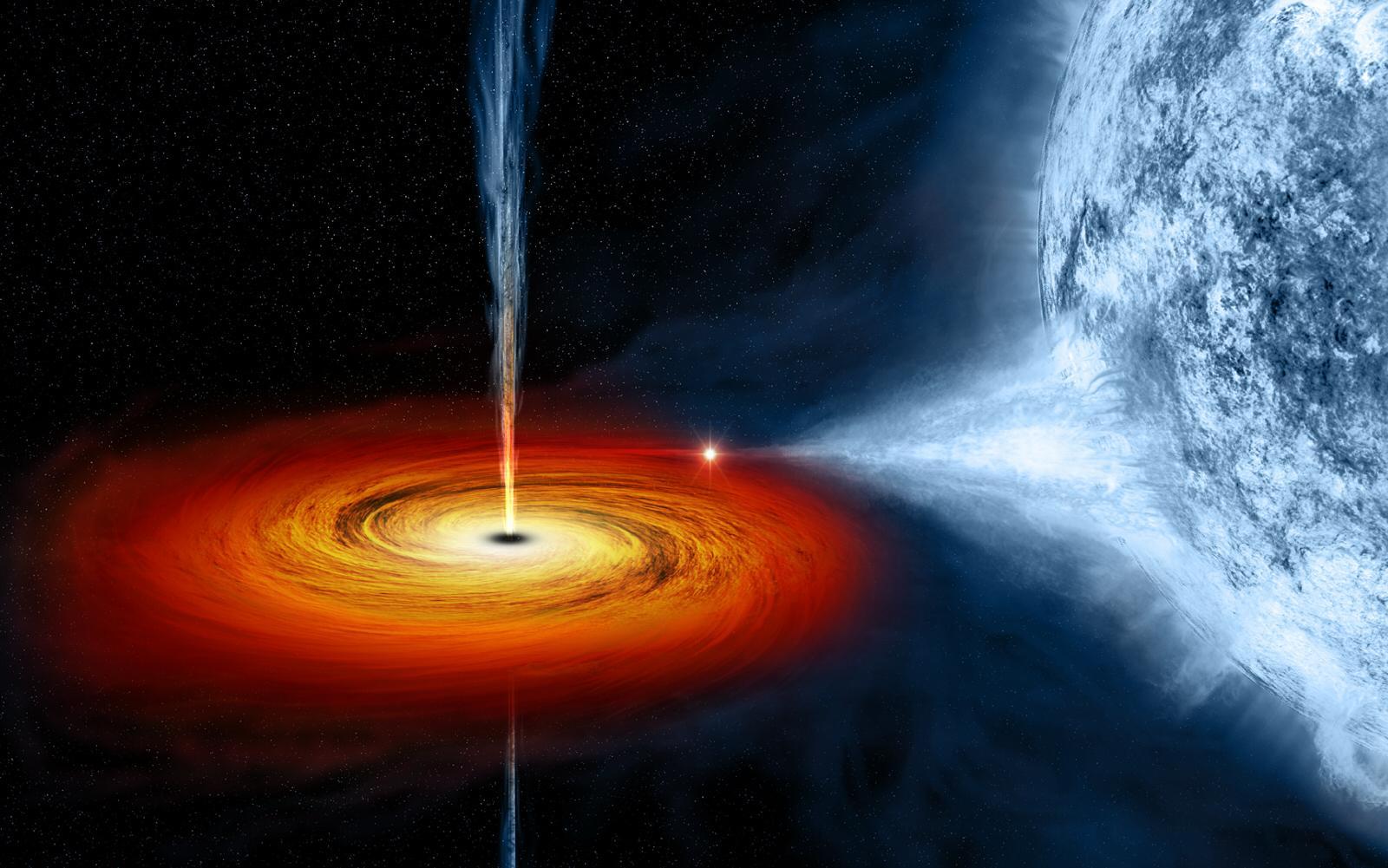 Доказана возможность извлечь энергию из черной дыры