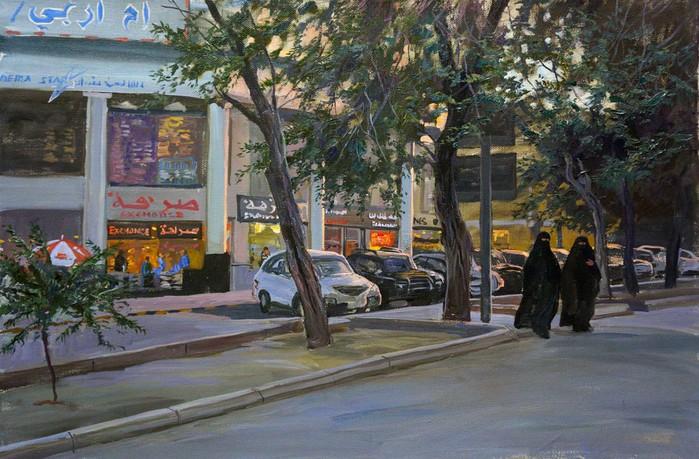 maksim-fayustov__evening-in-the-city--1-thumb (700x459, 472Kb)