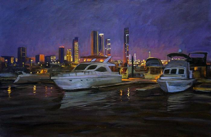maksim-fayustov__night-yachts--1-thumb (700x455, 382Kb)