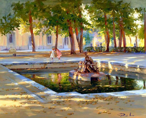 Ricardo Sanz. Городской пейзаж девятый