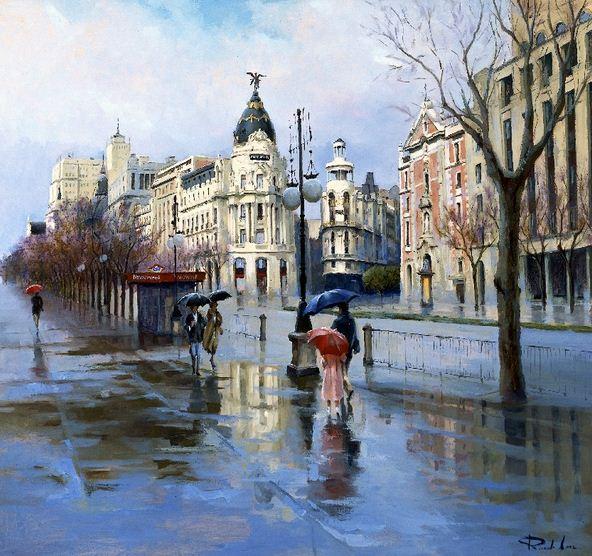Ricardo Sanz. Городской пейзаж десятый