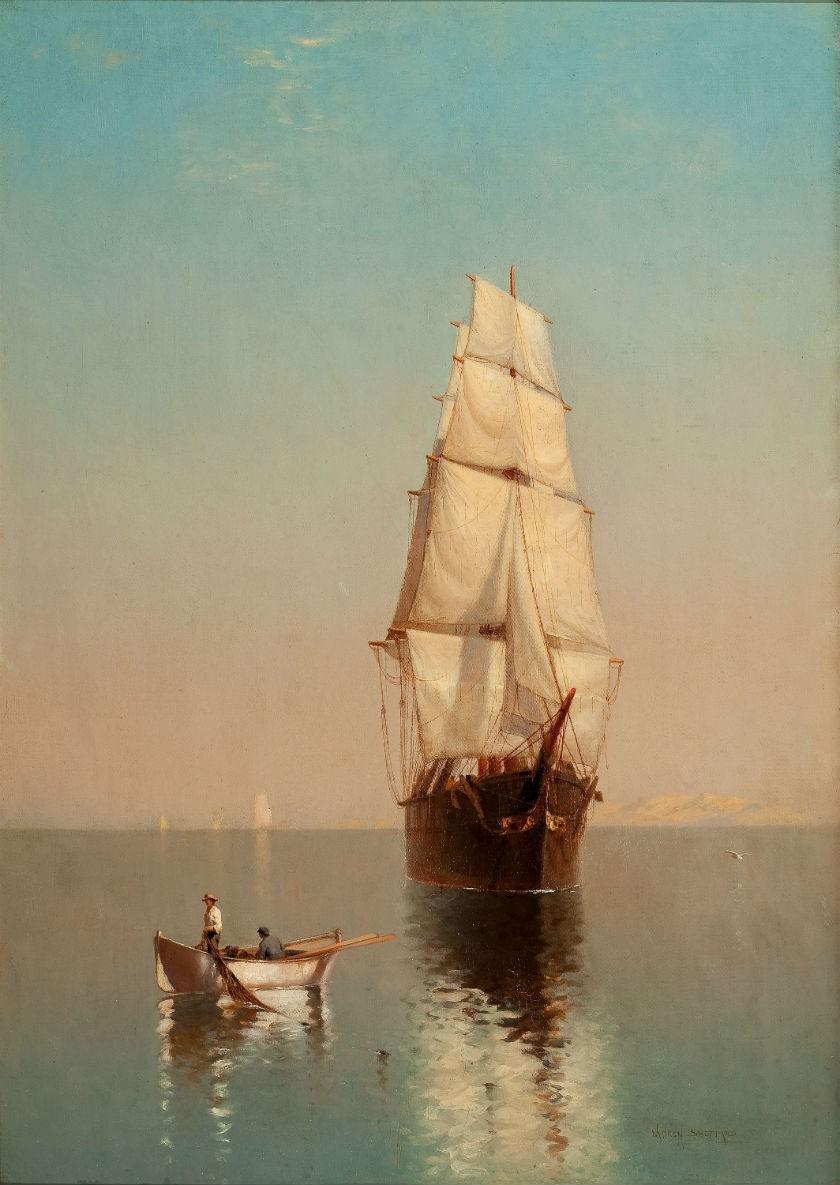 ХУДОЖНИКИ-МАРИНИСТЫ: BRERETON JAMES. Картины маслом море (35 работ)