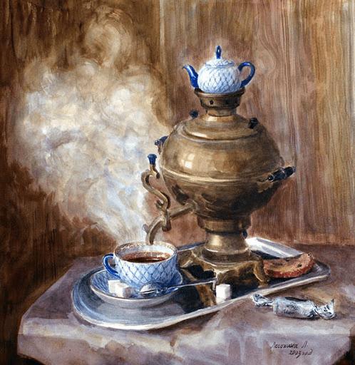 Самовар: символ русского чаепития