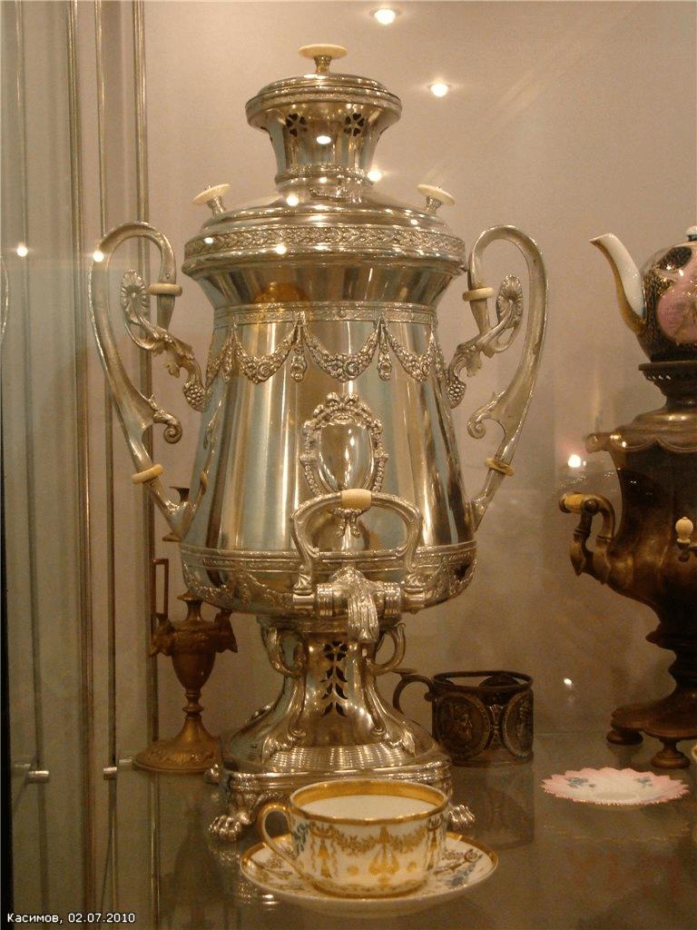 Фото из музея самоваров в Касимове