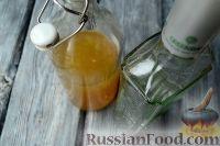 Фото приготовления рецепта: Медовая настойка (медовуха на водке) - шаг №4