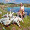 Творчество художника Олега Теняева