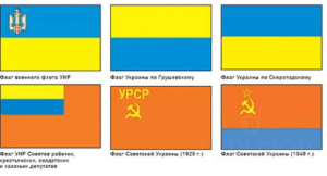 Мифы о происхождении Украины и украинцев. Миф 3. Исторически инородный флаг Украины
