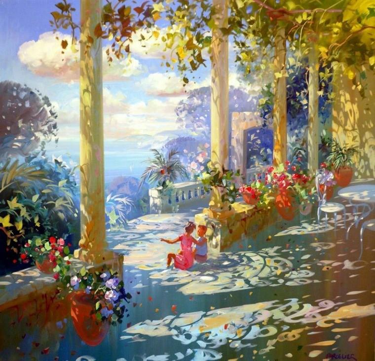 Современный французский импрессионизм прекрасные работы aurent arcelier, фото № 4
