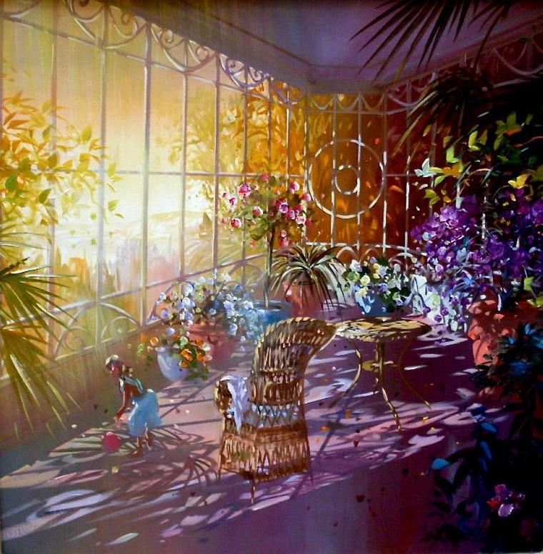 Современный французский импрессионизм прекрасные работы aurent arcelier, фото № 10