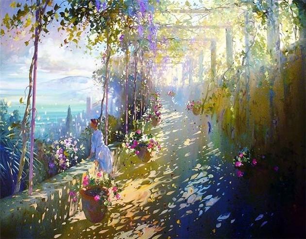 Современный французский импрессионизм прекрасные работы aurent arcelier, фото № 13
