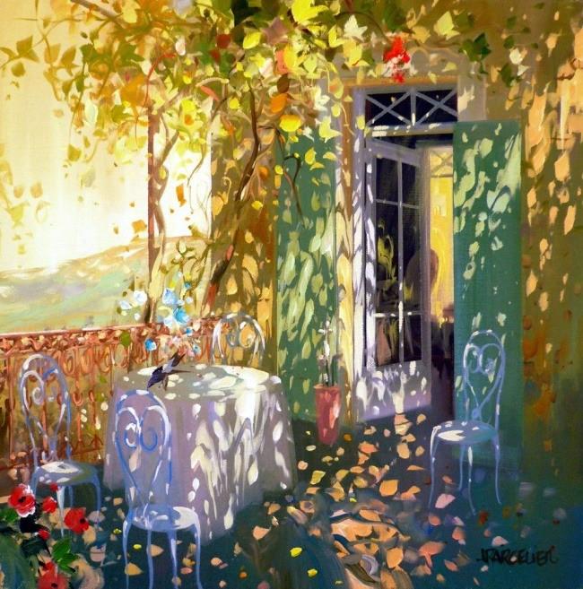 Современный французский импрессионизм прекрасные работы aurent arcelier, фото № 12