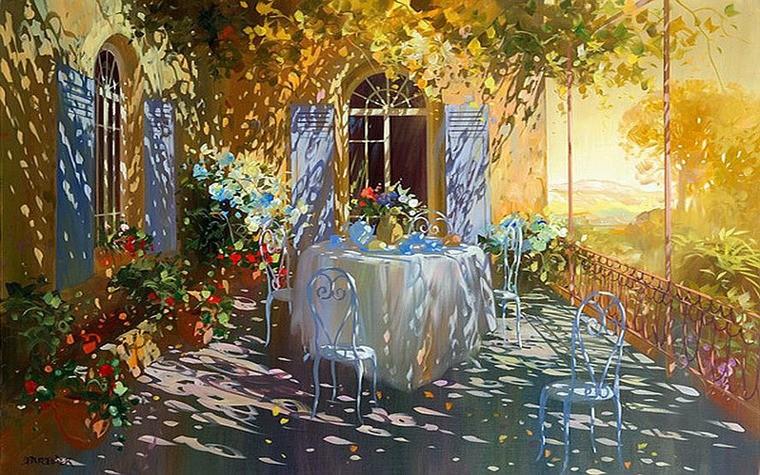 Современный французский импрессионизм прекрасные работы aurent arcelier, фото № 8
