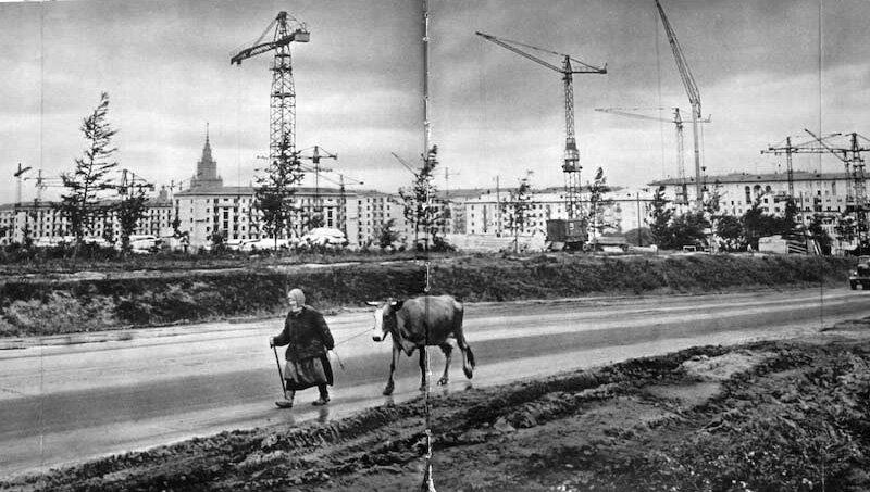 МОСКВА, КОНТРАСТЫ 1950-х