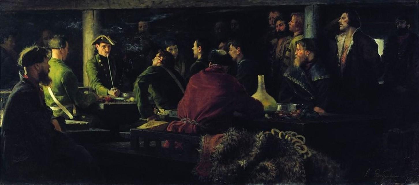 РУССКАЯ ИСТОРИЯ В КАРТИНАХ. ЧАСТЬ 7. ПЁТР ВЕЛИКИЙ. 1682-1725 ГОДЫ