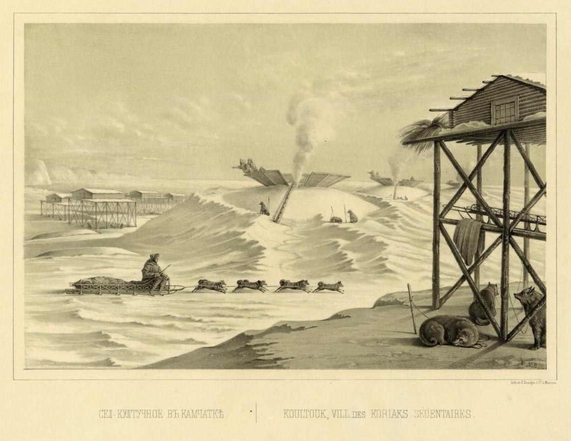 Путешествие по Восточной Сибири И. Булычова 1856 г. Часть 1 (малоизвестные зарисовки)