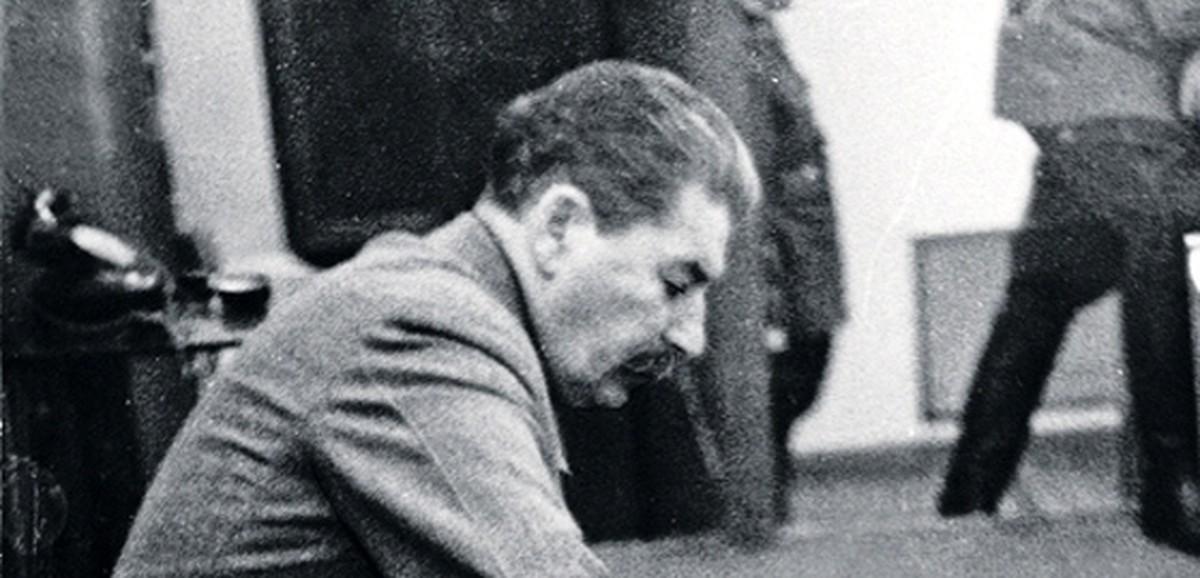 Редкая фотография Сталина