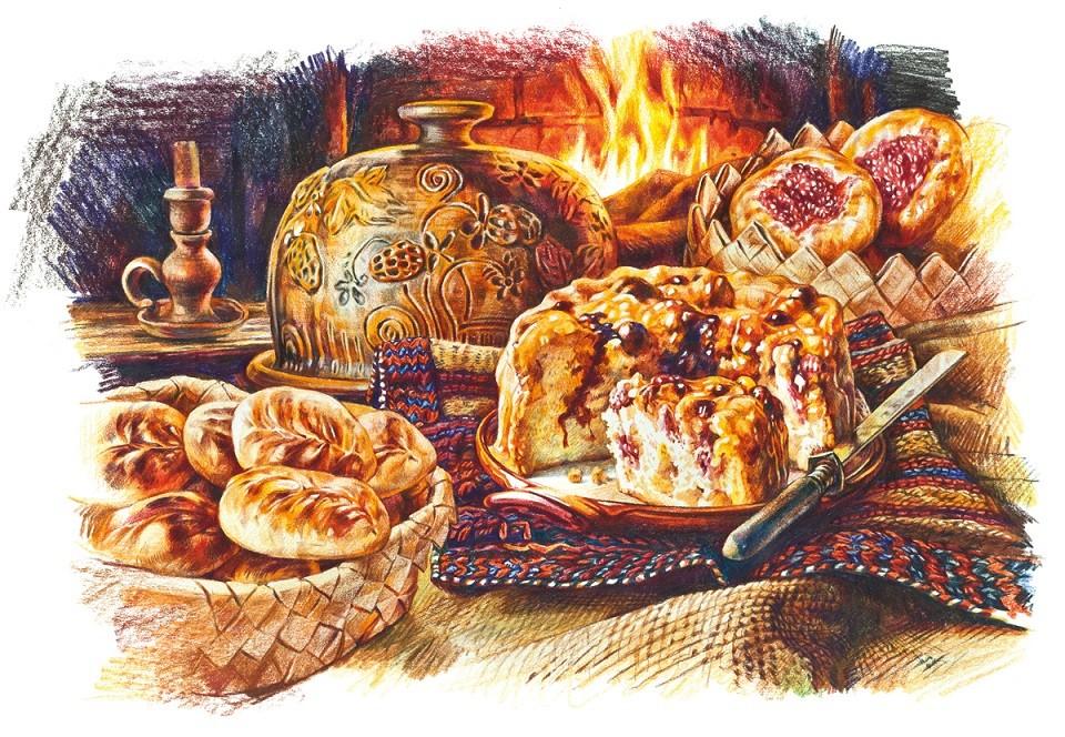 Вот такие пироги: какую выпечку готовили в разных губерниях