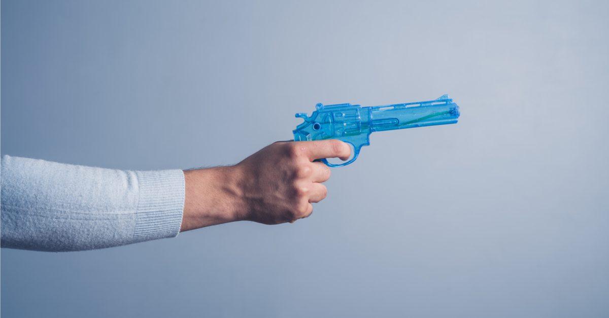 В США 40 лет тюрьмы за ограбление с помощью водяного пистолета без права помилования
