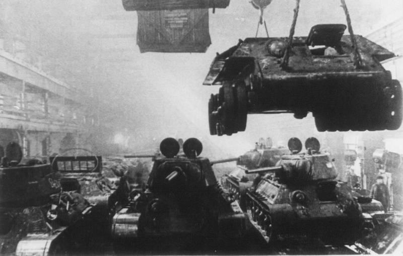 Эвакуация танковой промышленности в начале Великой Отечественной войны