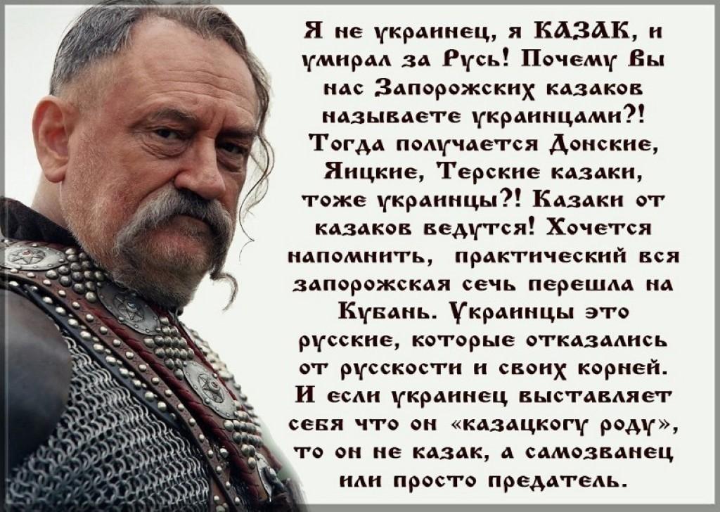 """Украинцами ли были """"украинские козаки""""..."""