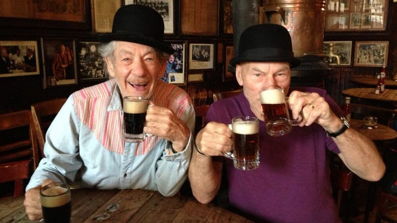 *Алкоголь, кофе и пара лишних килограммов помогут вам дожить до 90 лет*