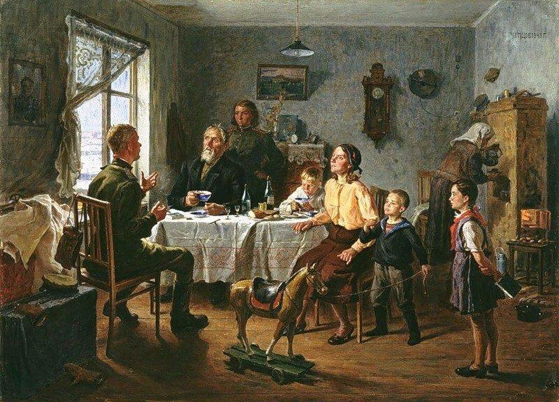 Советский быт. Атмосфера эпохи на картинах художников