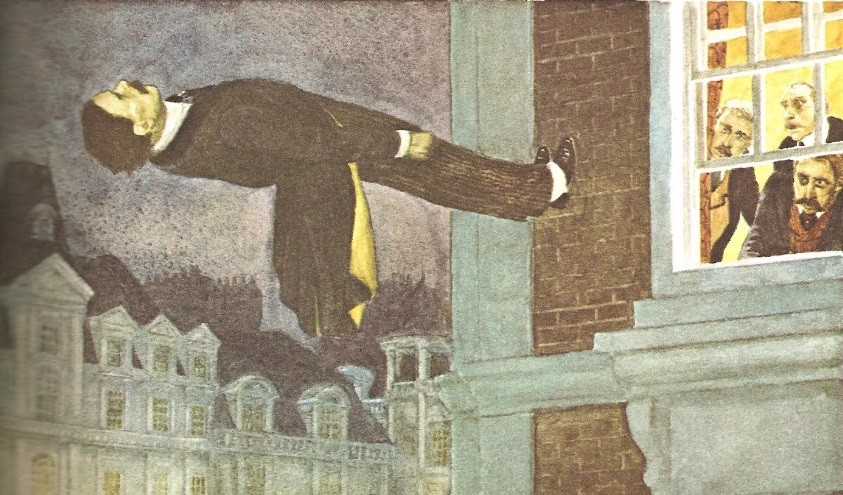 Человек летающий, Марк Твен, Александр Дюма и граф Алексей Толстой
