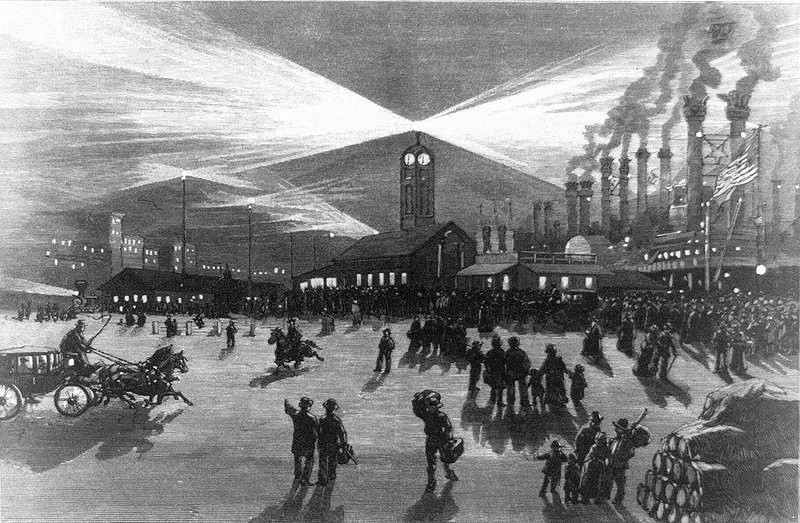 Эпоха БАШЕН ЛУННОГО СВЕТА на заре эры электричества