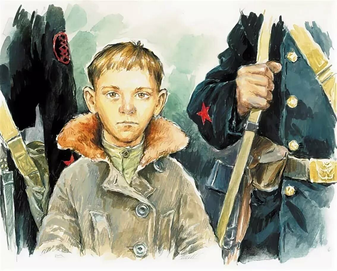 """""""Маленький солдат"""" рассказ. Автор Андрей Платонов"""
