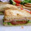 Быстрый и простой перекус под водочку - панини с ветчиной и сыром, рецепты с фото