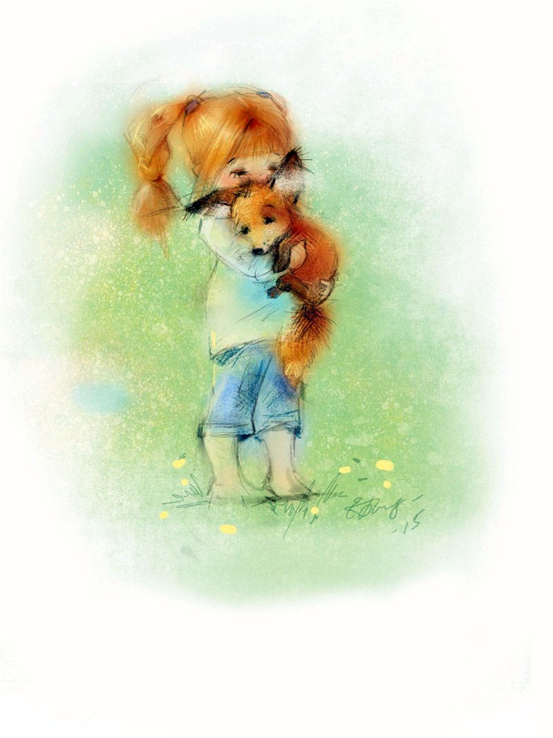 Еще волшебные и добрые образы от художника-иллюстратора Екатерины Бабок