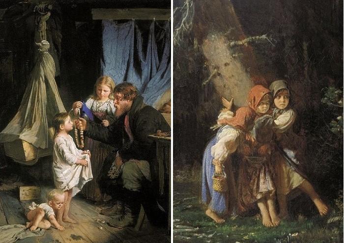 Жизнь России XIX века на живых картинах забытого художника Алексея Корзухина, которого обожают на западных аукционах