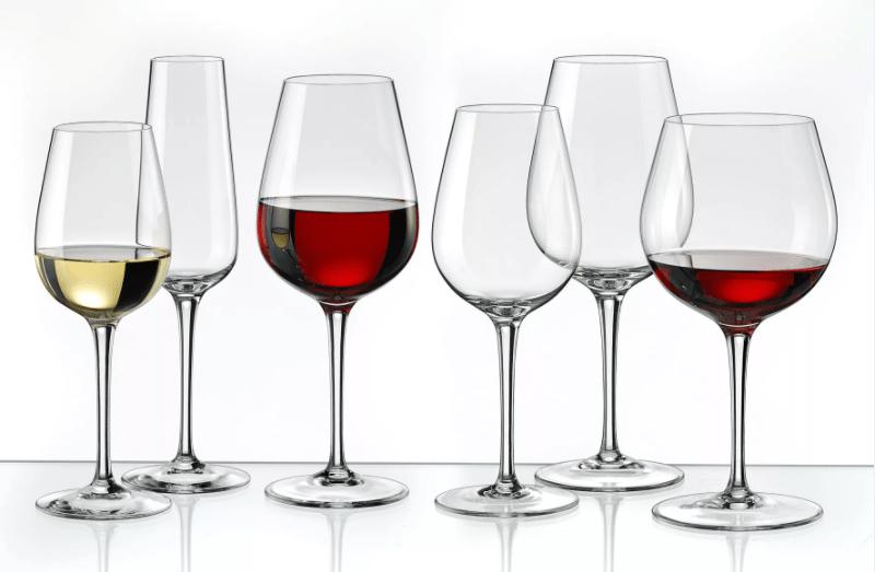Виды бокалов для красного вина