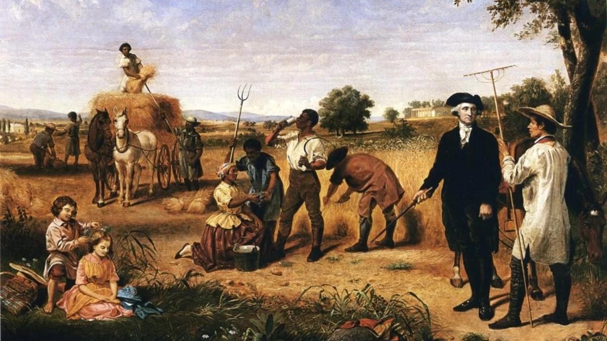 Как Джордж Вашингтон не мог освободиться от своих рабов