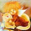Ангелы художницы Люси Чувиляевой