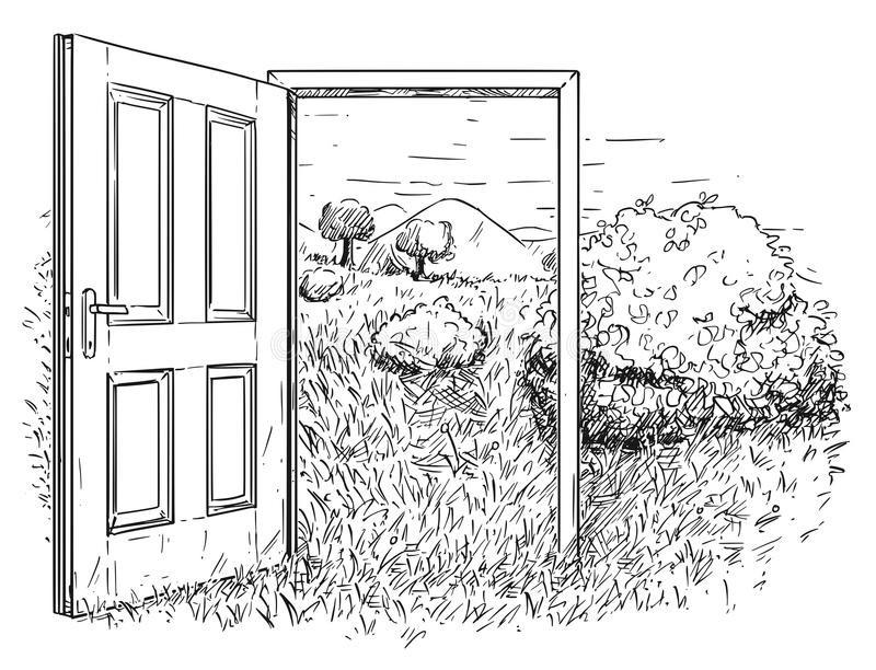 """""""Открытая дверь"""" рассказ. Автор Саки (Гектор Хью Манро)"""
