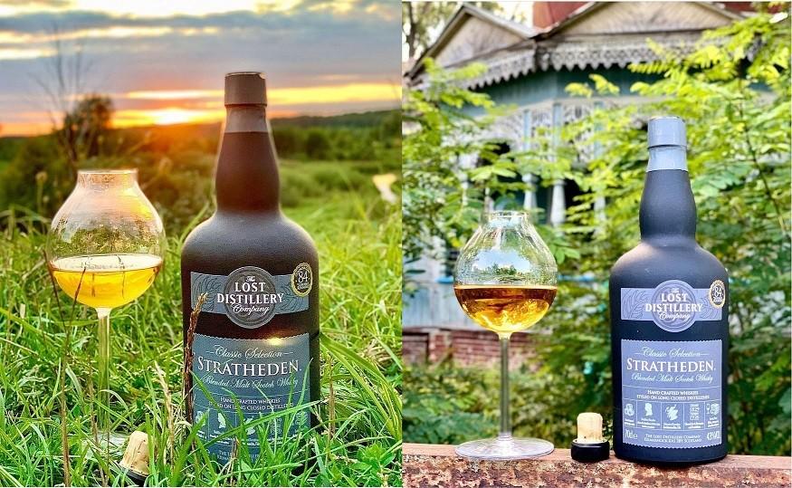 Stratheden – шотландский купажированный солодовый виски